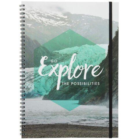 Banter Explore Spiral Notebook A4