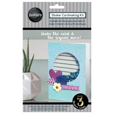 Rosie's Studio Shaker Card Kit Circle