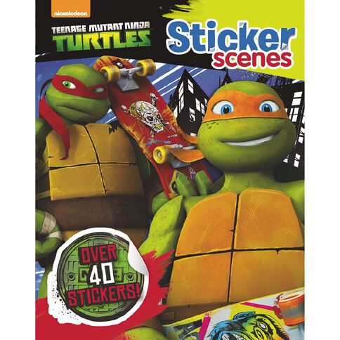 Teenage Mutant Ninja Turtles Sticker Scenes