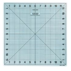 Fiskars Cutting Mat 12.5 x 12.5 Heal Clear