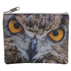 Classic Pencil Case Owl Multi-Coloured