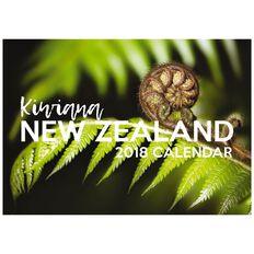 Calendar 2018 Nz Kiwiana A5