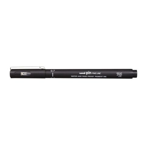 Uni Pin Fineliner 0.7 Black
