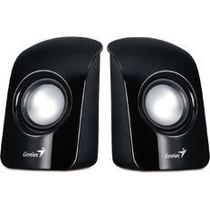 Genius Stereo USB Powered Speakers Spu115 Black