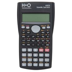 H+O Technology Scientific Calculator 82Es Black