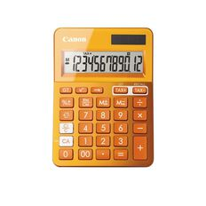 Canon Calculator Ls-123K Desktop Orange