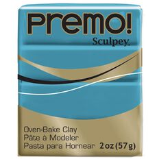 Sculpey Premo Accent Clay 57g Blue