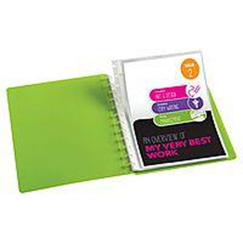 ColourHide Custom Display Book Refills 10 Pack Clear A4