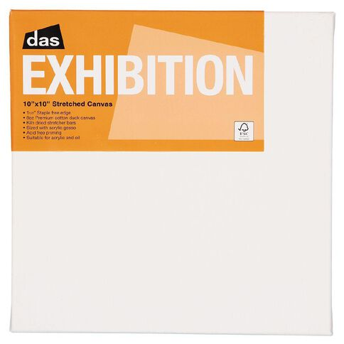 DAS 1.5 Exhibition Canvas 10 x 10in