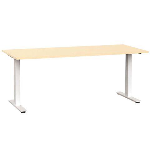 Agile 1800 Desk Nordic Maple/White