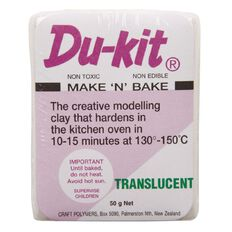 Du Kit Clay 50g Translucent