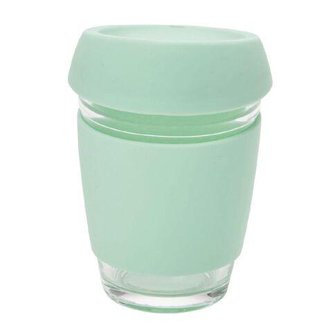 Uniti Glass Double Wall Travel Mug Mint