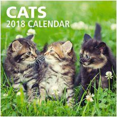 Calendar 2018 Cats 290mm x 290mm