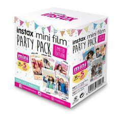 Fujifilm Instax Mini Party Pack Film Limited Edition Multi-Coloured