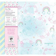 Grace Taylor Scrapbook Album 12X12 Sherbert Sky Multi-Coloured