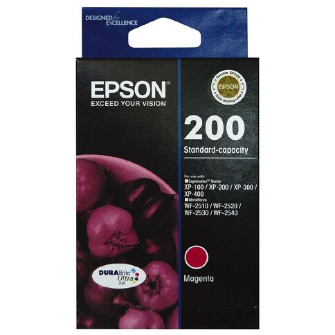 Epson Ink Cartridge 200 Ultra Magenta
