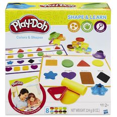 Play-Doh Colours & Shapes