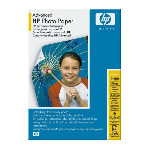 HP Photo Paper Q8008A Glossy 250gsm 6 x 4 60 Pack