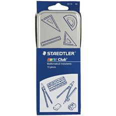 Staedtler Noris Club 10 Piece Math Set Multi-Coloured