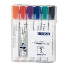 Staedtler Lumocolor Whiteboard Marker Chisel Wallet Of 6