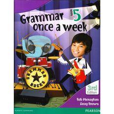 Year 5 Grammar Once A Week 5