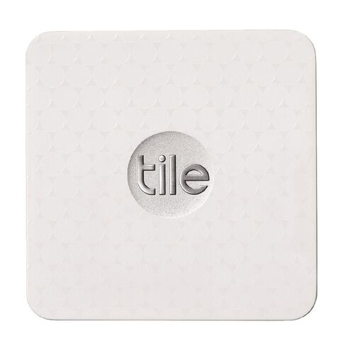 Tile Slim Bluetooth Tracker Single Pack White