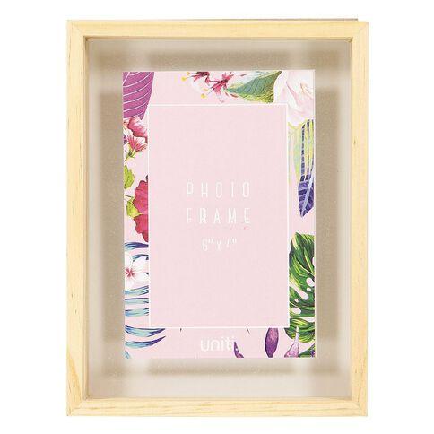 Uniti Soft Tropic Wooden Frame 6 x 4