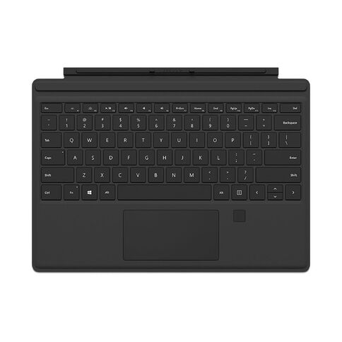 Microsoft Surface Pro 4 Type Cover With Fingerprint ID Black