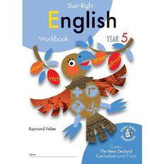 SR Year 5 English Workbook