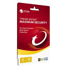Trend Micro Max Security 2 Devices 1 Year