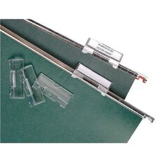 Accoflex Suspension File Top Tab Kit 50 Pack Clear