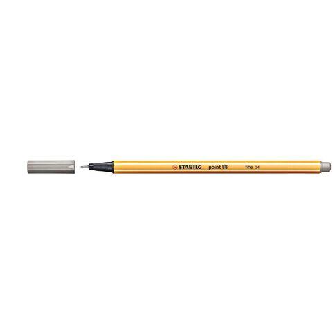 Stabilo Point 88 Fineliner 0.4mm Light Grey