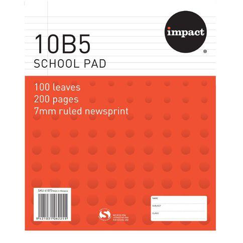 Impact Pad Refill 10B5 7mm Ruled 100 Leaf