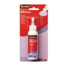 Scotch Quick Dry Tacky Adhesive