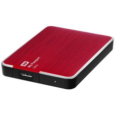 Wd Mypassport Ultra 2Tb Hard Drive Red Red