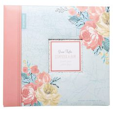 Grace Taylor Away We Go Scrapbook Album 12 x 12 Multi-Coloured