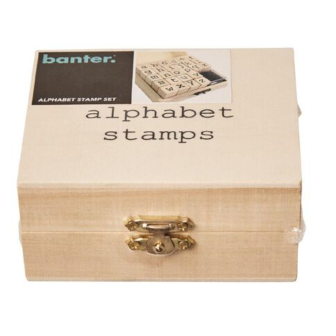 Banter Alphabet Stamp Set