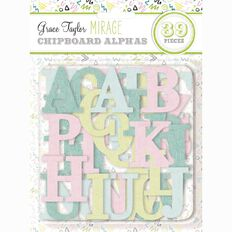 Grace Taylor Mirage Chipboard Alphas