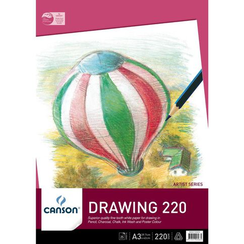 Canson Premium Drawing Pad 220gsm