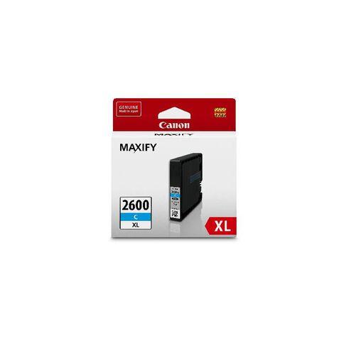 Canon Ink Cartridge PGI2600XL Cyan
