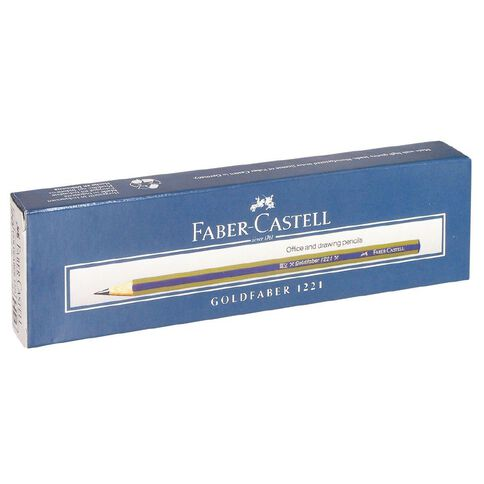 Faber-Castell Pencil Goldfaber Hb Single Black