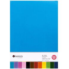 Rosie's Studio Value Cardstock Smooth 180g 48 Sheet Brights A4