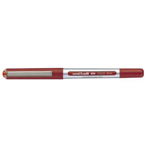 Uni-ball Eye Liquid Ink Rollerball 0.5 Red