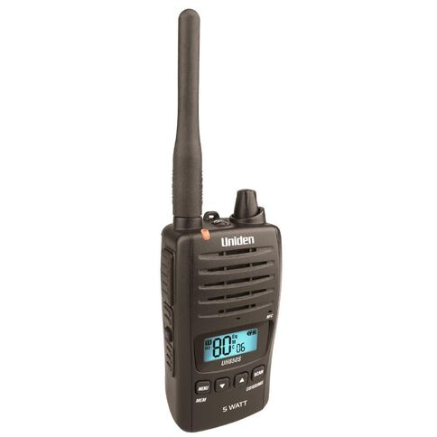 Uniden Uh850S Single Radio Black