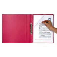 Marbig Bindermate Letter File Red A4