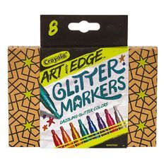 Art With Edge 8Ct Glitter Markers