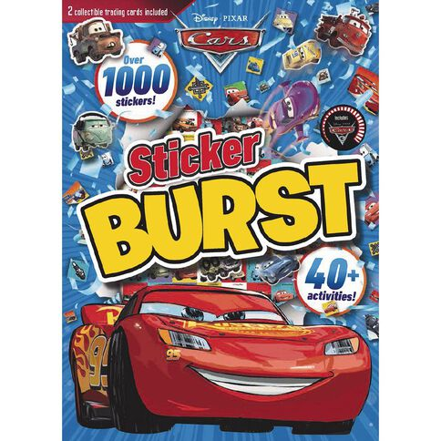 Disney Pixar Cars 3 Sticker Burst