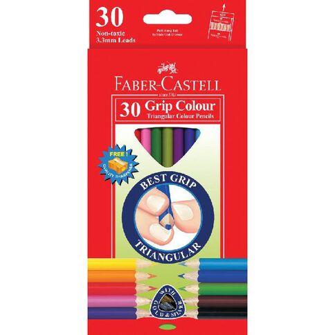 Faber-Castell Coloured Pencils Junior Trianglar 30 Pack