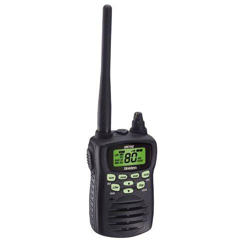 Uniden Uh750 Single Radio Black