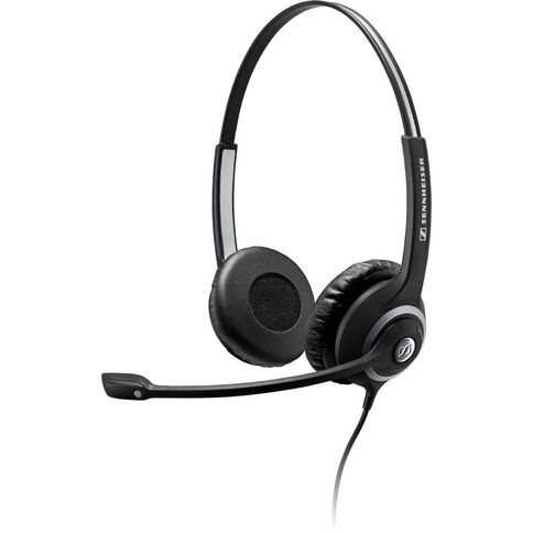 Sennheiser Sc 260 Binaural Wideband Headset With Noise-Cancelling Mic